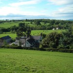 View of Plas Efenechtyd from-hill