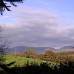 Clwydian Range in Autumn