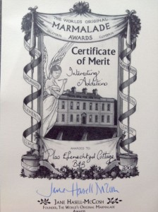 Marmalade award